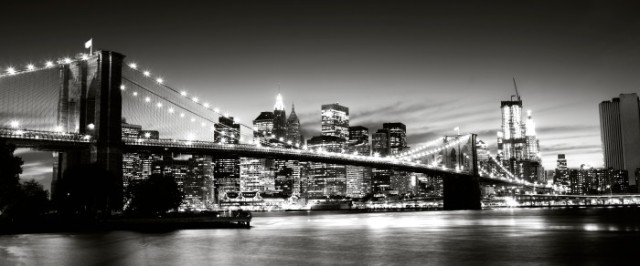 Brooklyn-bridge-svartvit
