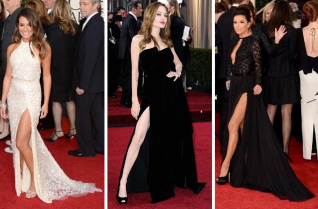Fendas à lá Angelina Jolie: