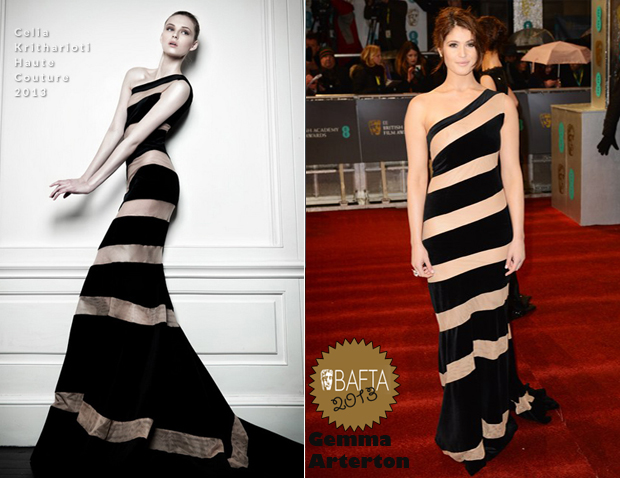 Gemma-Arterton-in-Celia-Kritharioti-Haute-Couture-2013-BAFTA-Awards