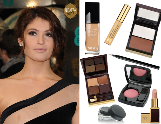 gemma-arterton-makeup-2013-bafta-awards-maquiagem-