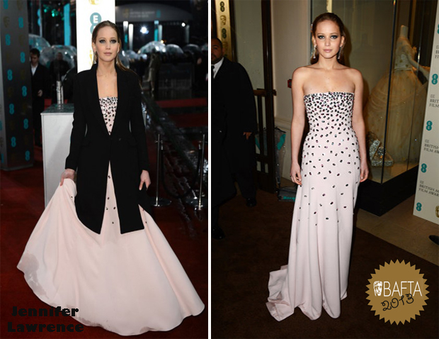 Jennifer-Lawrence-In-Christian-Dior-Couture-2013-BAFTA-Awards