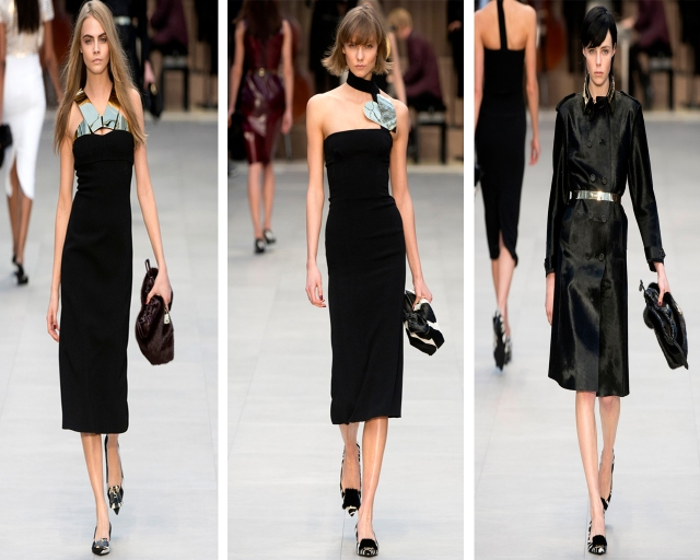 London-Fashion-Week-Burberry-Prorsum-Outono-Inverno-2013-Black
