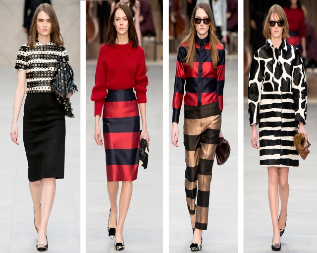 London-Fashion-Week-Burberry-Prorsum-Outono-Inverno-2013-Stripes