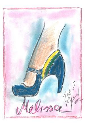 Melissa-Karl Lagerfeld-croqui