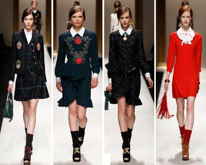 milan-fashion-week-2013-outono-inverno-moschino-preppy