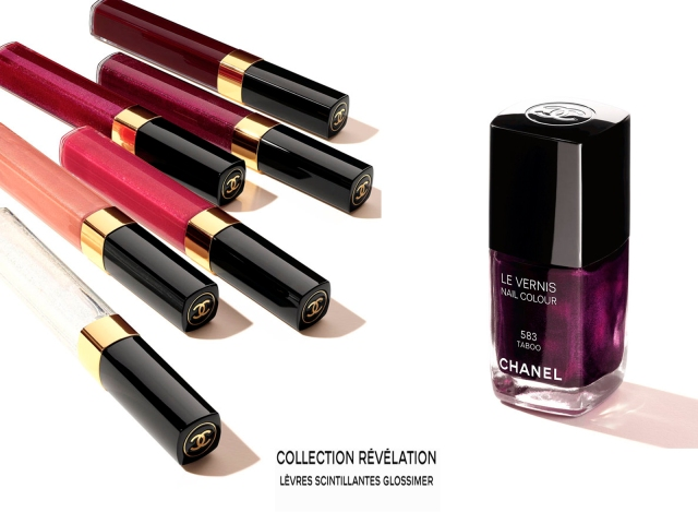 Chanel Collection Révélation Lévres Scintillantes Glossimer