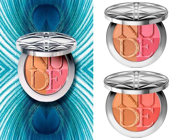 Diorskin Nude Tan Paradise Duo: Pink Glow e Coral Glow (US$56,00)