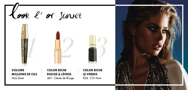 coleção-maquiagem-LOr-Sunset-LOréal-Festival-Cannes-2013-get-the-look-Doutzen-Kroes