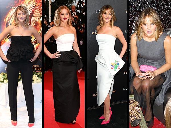 Jennifer Lawrence no Festival de Cannes Foto: stylenews