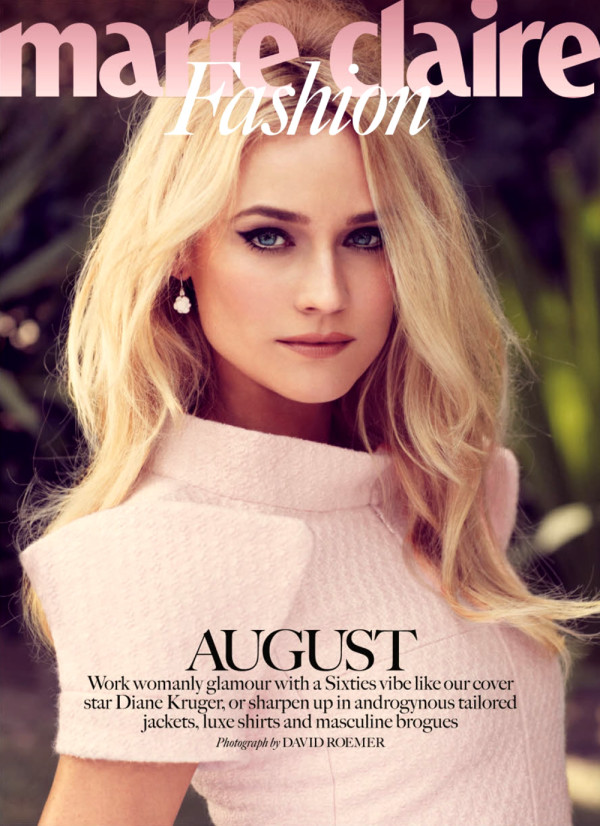 inspiracao-beleza-diane-kruger-marie-claire-uk-agosto-2013-capa-fashion