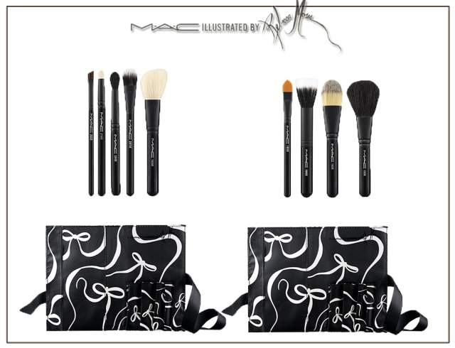 Illustrated Brush Kit ($49.50) (Limited Edition)     All Over Brush Kit 168SE, 287SE, 224SE, 219SE, 266SE, Brush Roll     Face Brush Kit 129SE, 188SE, 190SE, 195SE, Brush Roll