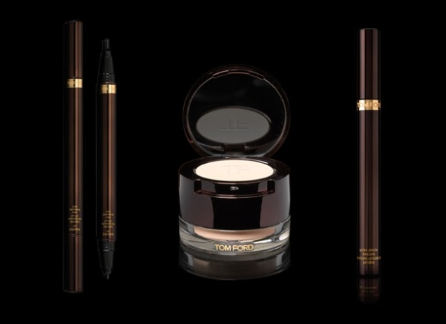OM FORD EYE DEFINING PEN ($55 USD), EYE PRIMER DUO ($50 USD), and ULTRA LENGTH MASCARA ($42 USD)