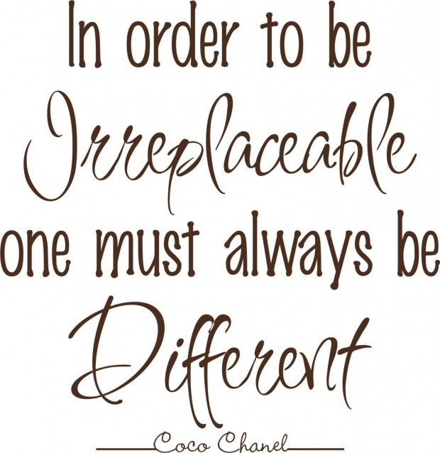 chanel-quotes-in-order-to-be-irreplaceable-one-must-alwalys-be-different