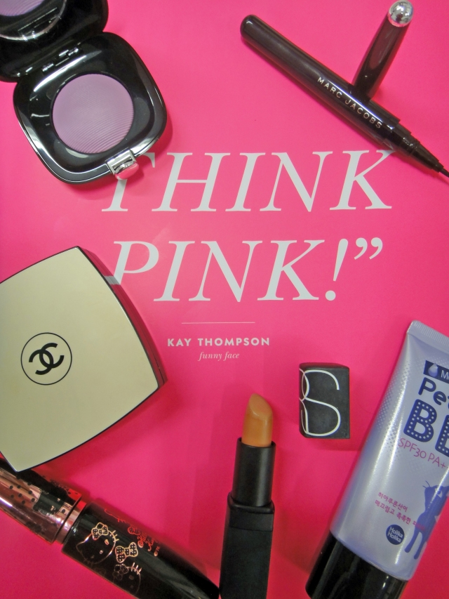 Chanel-Les_Beiges-Holika_holika-Petit_BB_cream-Nars-batom-Belle_de_Jour-Marc_Jacobs_Beauty- Shameless_Bold_blush-212_Outspoken-Magic_Marcer_Precision_Pen