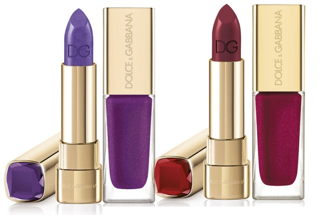 And two cool toned shades: lilac Ametista and  ruby Rubino.