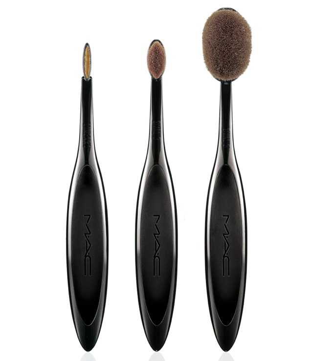 MAC Linear 1 Brush $25 MAC OVAL 3 Brush $32 MAC OVAL 6 Brush $42