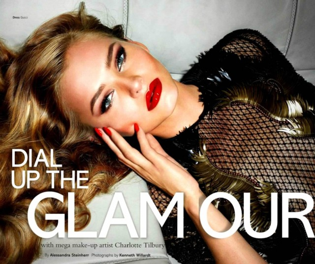 editorial-dial-up-the-glamour-Johanna-Wahlberg-Glamour-UK-Dezembro-2013-capa
