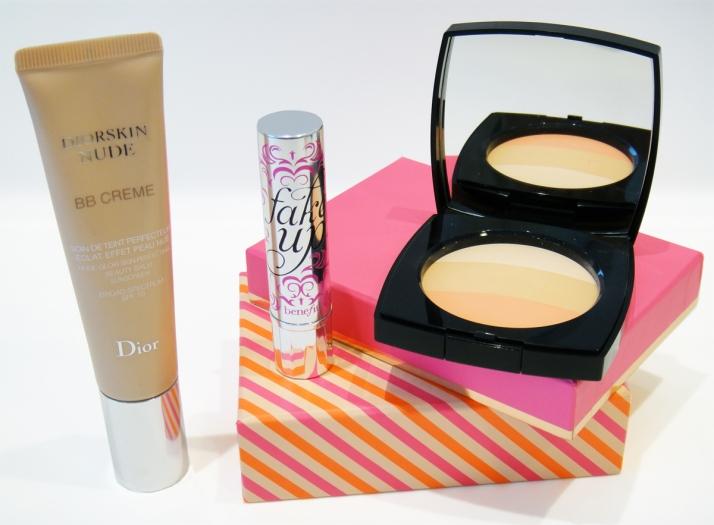 pele-radiante-bb-cream-diorsink-nude-chanel-les-beiges-corretivo-fake-up-benefit